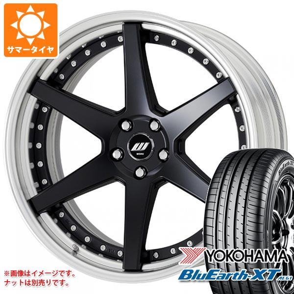 サマータイヤ 225/60R18 100H ヨコハマ ブルーアースXT AE61 ジースト ST1 7.5-18 タイヤホイール4本セット