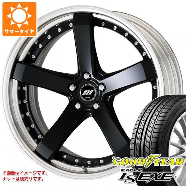 サマータイヤ 245/35R20 95W XL グッドイヤー イーグル LSエグゼ ワーク ジースト ST2 8.0-20 タイヤホイール4本セット