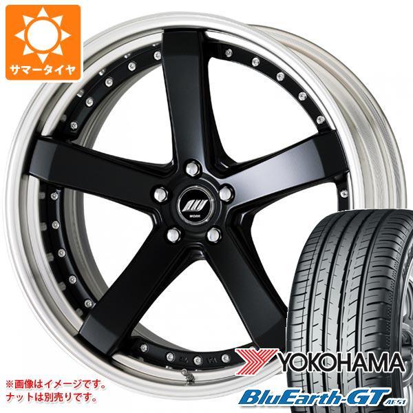 サマータイヤ 225/35R19 88W XL ヨコハマ ブルーアースGT AE51 ワーク ジースト ST2 8.0-19 タイヤホイール4本セット