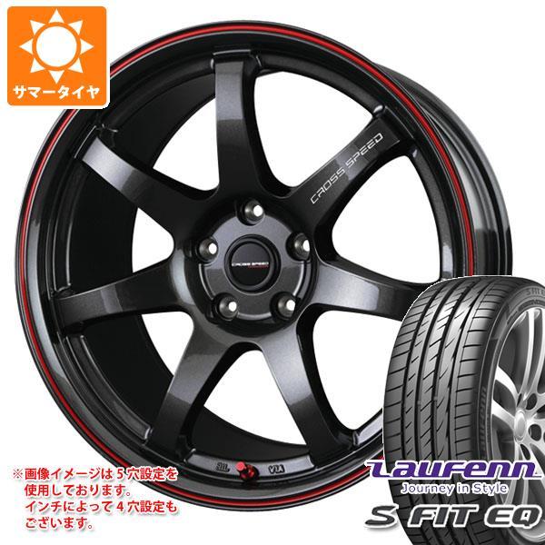 サマータイヤ 215/40R17 87W XL ラウフェン Sフィット EQ LK01 クロススピード ハイパーエディション CR7 7.0-17 タイヤホイール4本セット