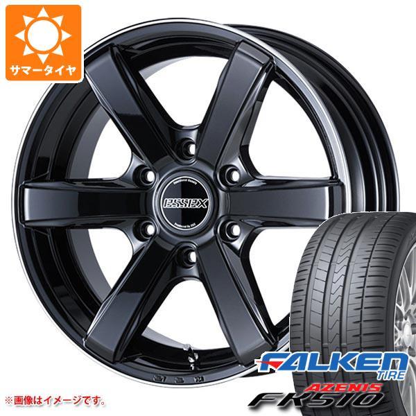ハイエース 200系専用 サマータイヤ ファルケン アゼニス FK510 235/35ZR20 (92Y) XL エセックス EC 8.5-20 タイヤホイール4本セット