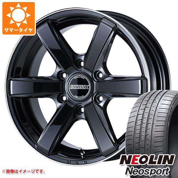 ハイエース 200系専用 サマータイヤ ネオリン ネオスポーツ 225/35R20 93Y XL エセックス EC 8.5-20 タイヤホイール4本セット