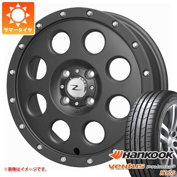 サマータイヤ 165/50R15 72V ハンコック ベンタス プライム3 K125 アイメタル X ブラック 軽カー専用 4.5-15 タイヤホイール4本セット