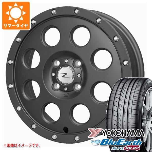 サマータイヤ 165/60R15 77H ヨコハマ ブルーアース RV-02CK アイメタル X ブラック 軽カー専用 4.5-15 タイヤホイール4本セット