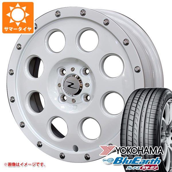 サマータイヤ 165/60R15 77H ヨコハマ ブルーアース RV-02CK アイメタル X ホワイト 軽カー専用 4.5-15 タイヤホイール4本セット