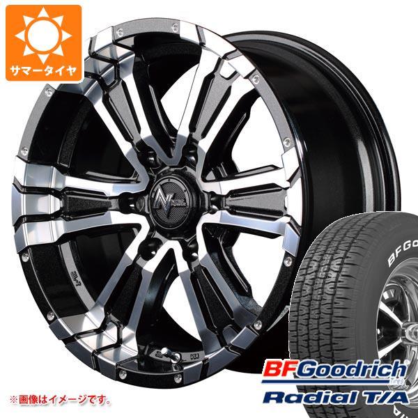 正規品 サマータイヤ 215/70R15 97S BFグッドリッチ ラジアルT/A ホワイトレター ナイトロパワー クロスクロウ 6.0-15 タイヤホイール4本セット