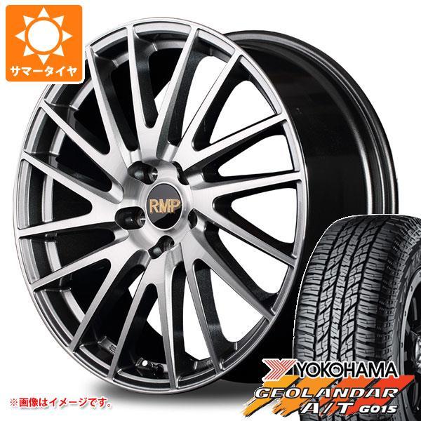 サマータイヤ 235/55R18 104H XL ヨコハマ ジオランダー A/T G015 ブラックレター RMP 016F 8.0-18 タイヤホイール4本セット