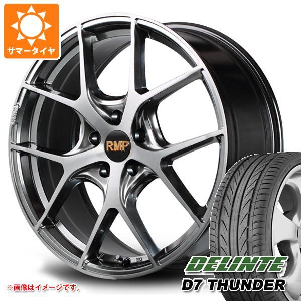 サマータイヤ 225/35R19 88W XL デリンテ D7 サンダー RMP 025F 8.0-19 タイヤホイール4本セット