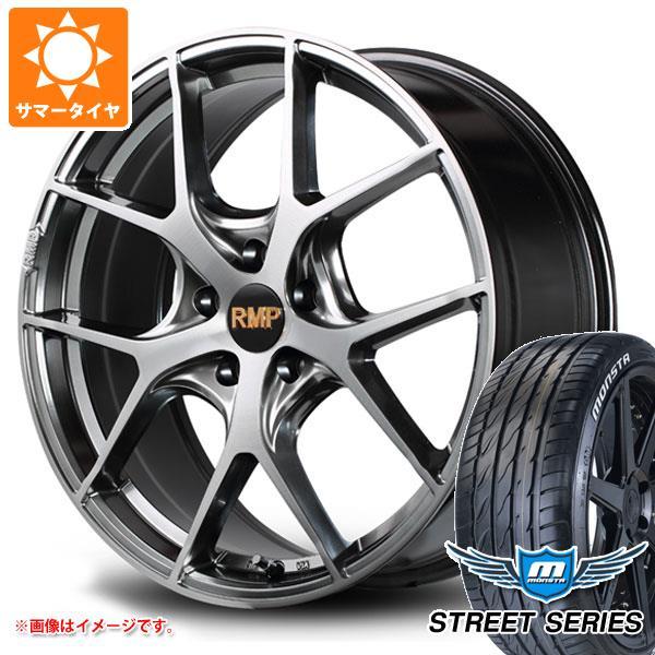 サマータイヤ 215/45R17 92V XL モンスタ ストリートシリーズ ホワイトレター RMP 025F 7.0-17 タイヤホイール4本セット