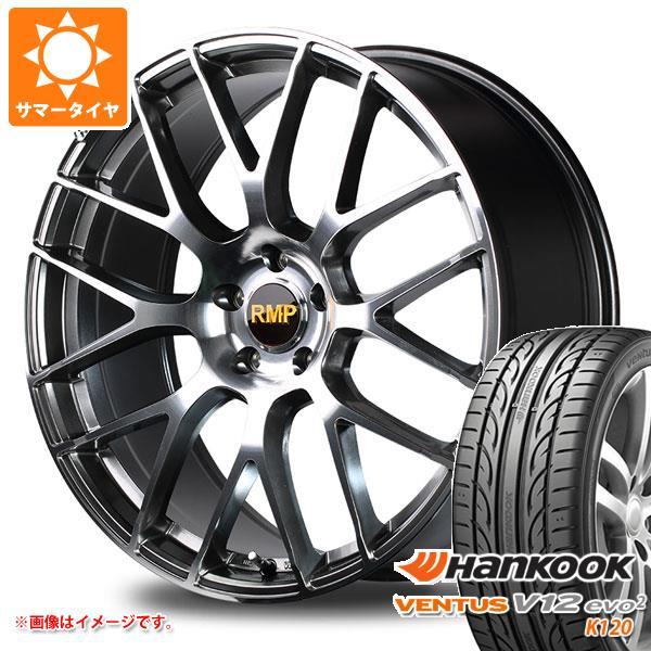 サマータイヤ 235/35R19 91Y XL ハンコック ベンタス V12evo2 K120 RMP 028F 7.5-19 タイヤホイール4本セット
