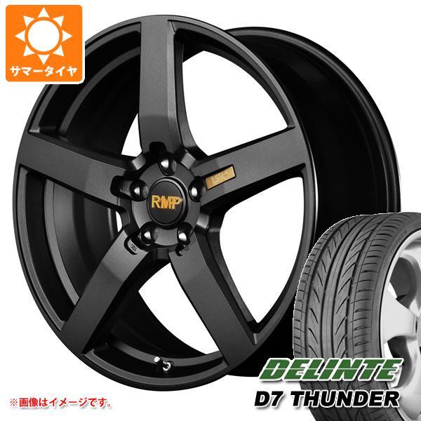 サマータイヤ 245/35R20 95W XL デリンテ D7 サンダー RMP 050F 8.5-20 タイヤホイール4本セット