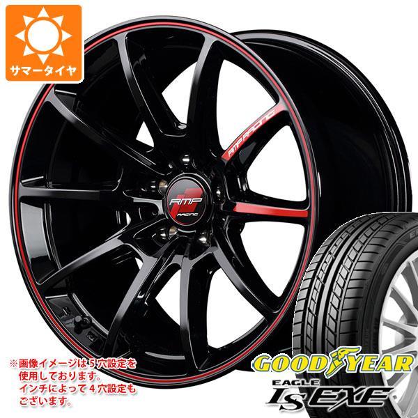 サマータイヤ 215/50R17 95V XL グッドイヤー イーグル LSエグゼ RMPレーシング R25 7.0-17 タイヤホイール4本セット
