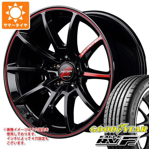 サマータイヤ 215/55R17 98V XL グッドイヤー イーグル RV-F RMPレーシング R25 7.0-17 タイヤホイール4本セット
