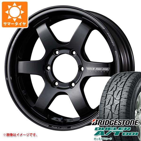 サマータイヤ 265/60R18 114S XL ブリヂストン デューラー A/T 001 ブラックレター レイズ ボルクレーシング TE37SB 8.0-18 タイヤホイール4本セット