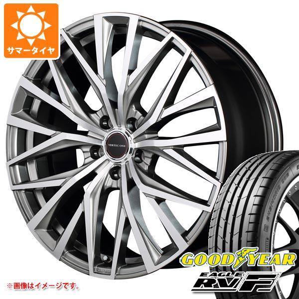 サマータイヤ 215/60R17 100H XL グッドイヤー イーグル RV-F ヴァーテックワン アルバトロス 7.0-17 タイヤホイール4本セット