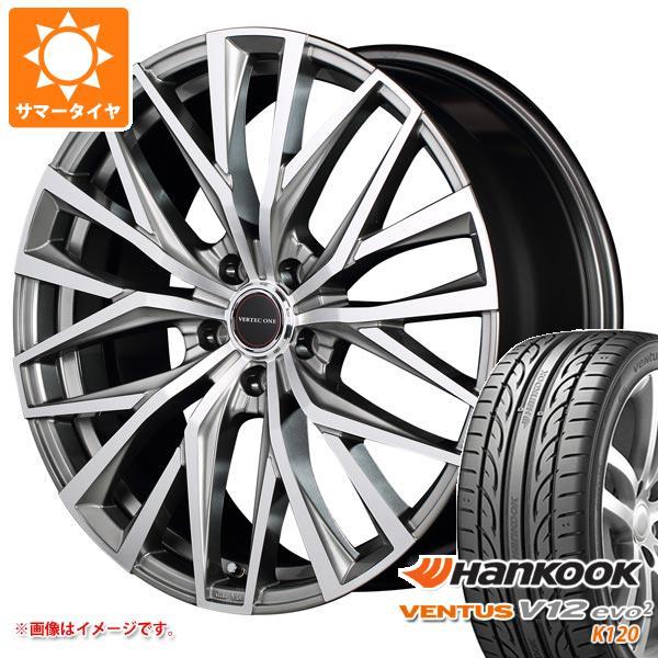 サマータイヤ 215/45R18 93Y XL ハンコック ベンタス V12evo2 K120 ヴァーテックワン アルバトロス 7.0-18 タイヤホイール4本セット