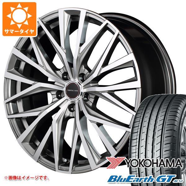 サマータイヤ 165/55R15 75V ヨコハマ ブルーアースGT AE51 ヴァーテックワン アルバトロス 4.5-15 タイヤホイール4本セット
