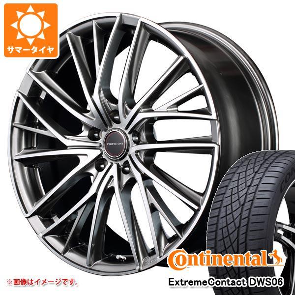 サマータイヤ 215/55R17 94W コンチネンタル エクストリームコンタクト DWS06 ヴァーテックワン ヴァルチャー 7.0-17 タイヤホイール4本セット