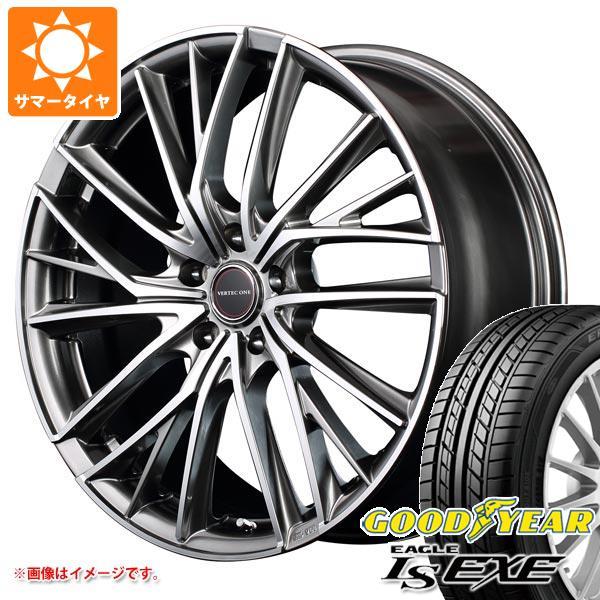 サマータイヤ 205/45R16 87W XL グッドイヤー イーグル LSエグゼ ヴァーテックワン ヴァルチャー 6.0-16 タイヤホイール4本セット