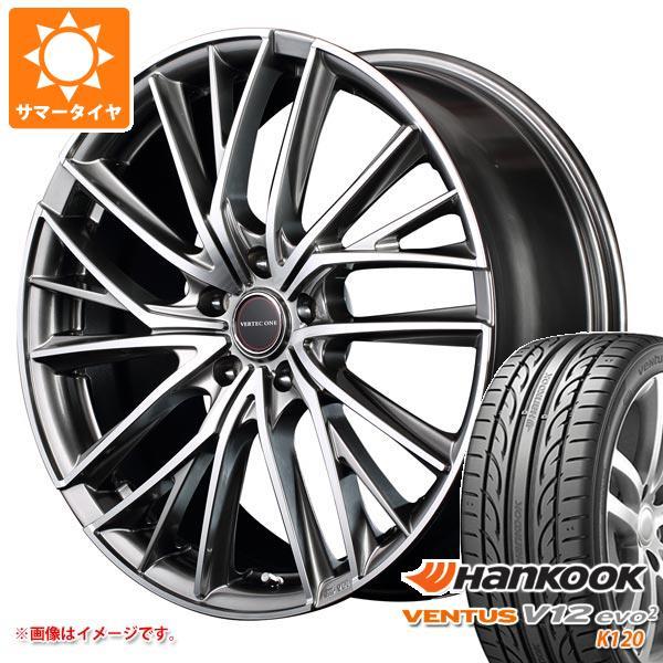 サマータイヤ 225/50R17 98Y XL ハンコック ベンタス V12evo2 K120 ヴァーテックワン ヴァルチャー 7.0-17 タイヤホイール4本セット