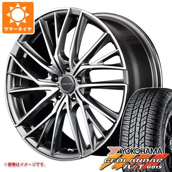 サマータイヤ 165/60R15 77H ヨコハマ ジオランダー A/T G015 ブラックレター ヴァーテックワン ヴァルチャー 4.5-15 タイヤホイール4本セット