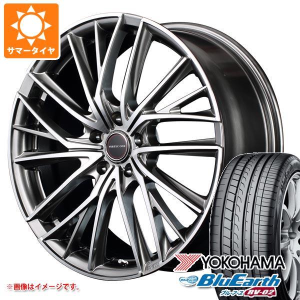 2020年製 サマータイヤ 155/65R14 75H ヨコハマ ブルーアース RV-02CK ヴァーテックワン ヴァルチャー 4.5-14 タイヤホイール4本セット