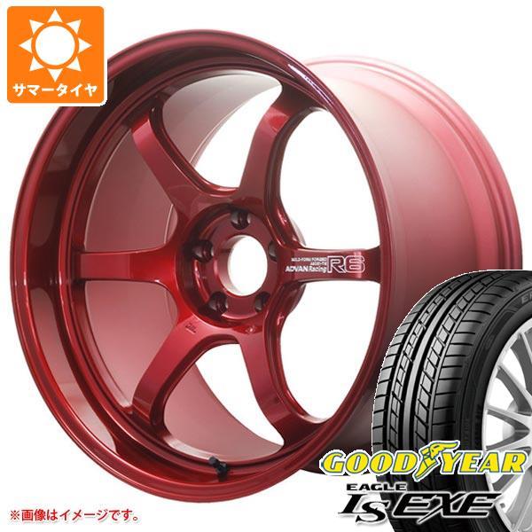 サマータイヤ 245/40R20 99W XL グッドイヤー イーグル LSエグゼ アドバンレーシング R6 9.0-20 タイヤホイール4本セット