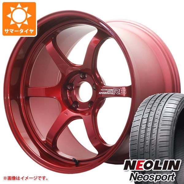 サマータイヤ 245/45R20 99W ネオリン ネオスポーツ アドバンレーシング R6 9.0-20 タイヤホイール4本セット