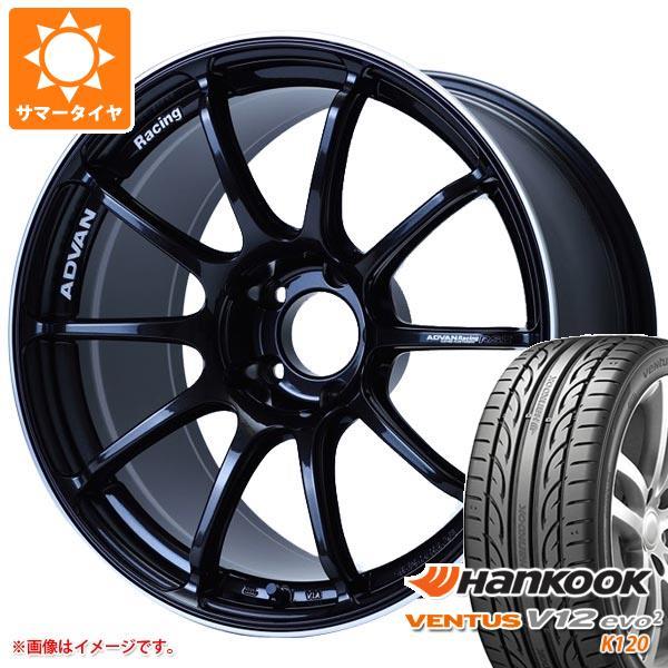 2020年製 サマータイヤ 245/40R18 97Y XL ハンコック ベンタス V12evo2 K120 アドバンレーシング RS3 8.5-18 タイヤホイール4本セット