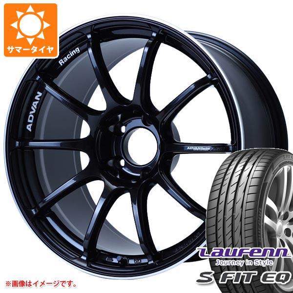 サマータイヤ 235/40R18 95Y XL ラウフェン Sフィット EQ LK01 アドバンレーシング RS3 8.0-18 タイヤホイール4本セット