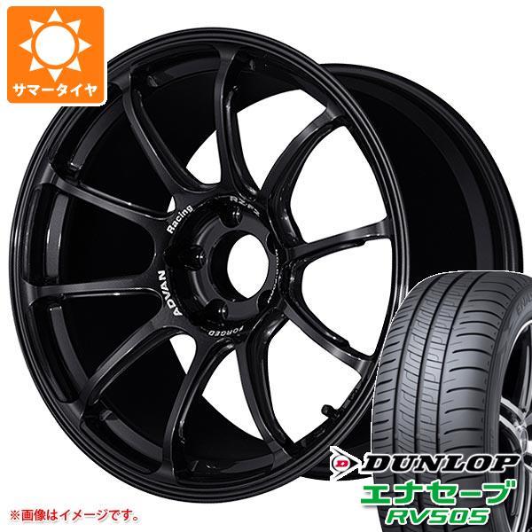 サマータイヤ 245/45R18 100W XL ダンロップ エナセーブ RV505 アドバンレーシング RZ-F2 7.5-18 タイヤホイール4本セット