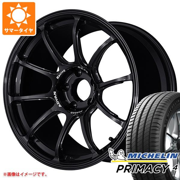 正規品 サマータイヤ 215/45R18 93W XL ミシュラン プライマシー4 アドバンレーシング RZ-F2 7.5-18 タイヤホイール4本セット