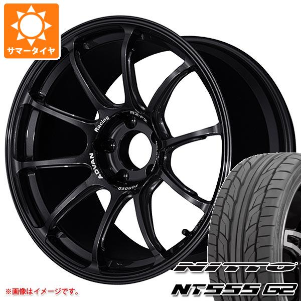 サマータイヤ 245/45R18 100Y XL ニットー NT555 G2 アドバンレーシング RZ-F2 7.5-18 タイヤホイール4本セット