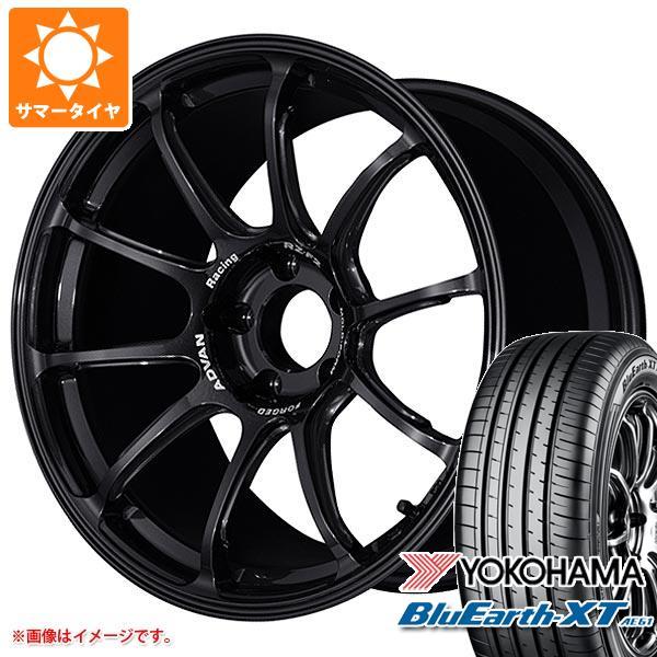 サマータイヤ 225/60R18 100H ヨコハマ ブルーアースXT AE61 アドバンレーシング RZ-F2 8.0-18 タイヤホイール4本セット