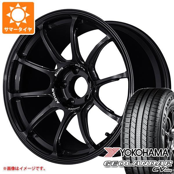 サマータイヤ 225/60R18 100H ヨコハマ ジオランダー CV 2020年4月発売サイズ アドバンレーシング RZ-F2 8.0-18 タイヤホイール4本セット