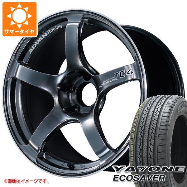 ファッション サマータイヤ 7.5-18 235/55R18 104V XL ヤトン 104V エコセイバー アドバンレーシング TC-4 XL 7.5-18 タイヤホイール4本セット, 舞網工房 マイアミクラフト:f2592cbb --- cranescompare.com