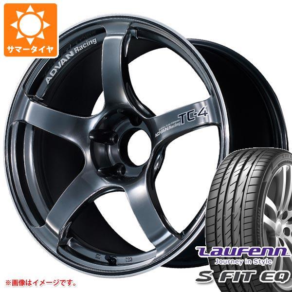 サマータイヤ 235/40R18 95Y XL ラウフェン Sフィット EQ LK01 アドバンレーシング TC-4 7.5-18 タイヤホイール4本セット