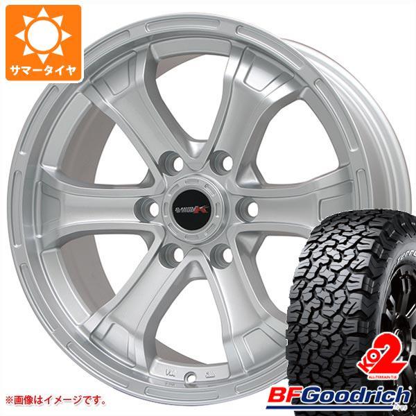 正規品 サマータイヤ 265/65R18 122/119R BFグッドリッチ オールテレーン T/A KO2 ホワイトレター B マッド K 8.0-18 タイヤホイール4本セット