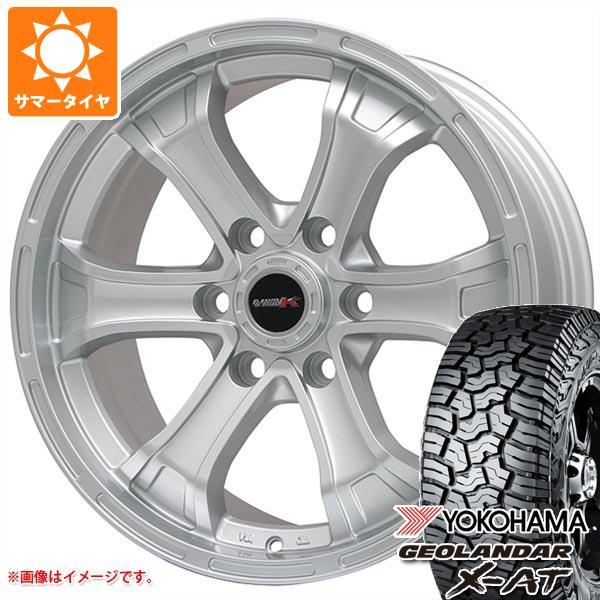 サマータイヤ 285/65R18 125/122Q ヨコハマ ジオランダー X-AT G016 B マッド K 8.0-18 タイヤホイール4本セット