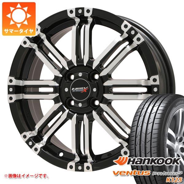 サマータイヤ 165/55R14 72V ハンコック ベンタス プライム3 K125 B マッド エックス 4.5-14 タイヤホイール4本セット