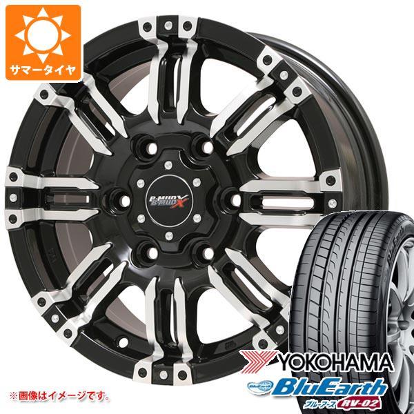 サマータイヤ 165/60R15 77H ヨコハマ ブルーアース RV-02CK B マッド エックス 4.5-15 タイヤホイール4本セット