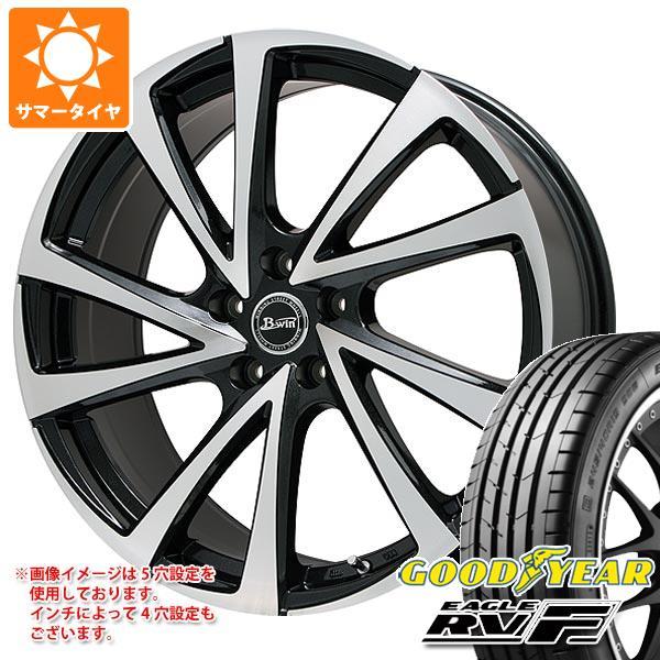 サマータイヤ 215/45R17 91W XL グッドイヤー イーグル RV-F ビーウィン ヴェノーザ10 7.0-17 タイヤホイール4本セット