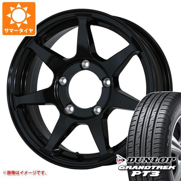 ジムニー専用 サマータイヤ ダンロップ グラントレック PT3 175/80R16 91S ドゥオール CST ゼロワンハイパー +J 5.5-16 タイヤホイール4本セット