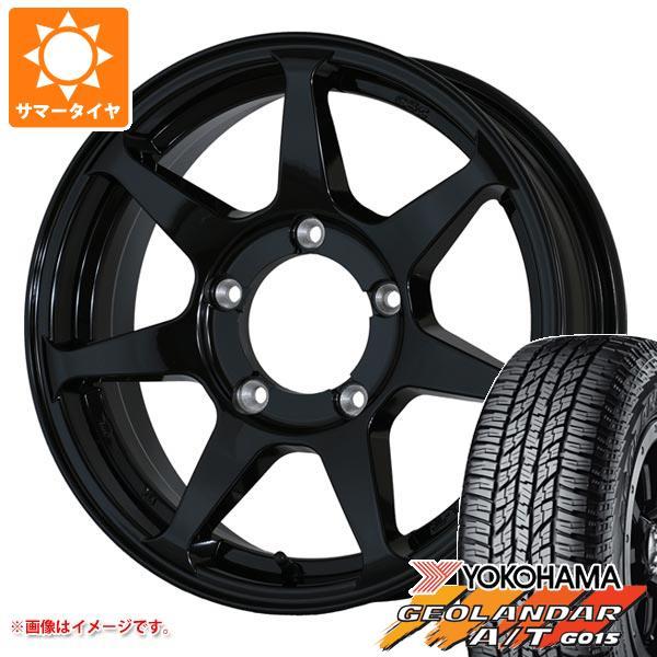 ジムニー専用 サマータイヤ ヨコハマ ジオランダー A/T G015 175/80R16 91S ブラックレター ドゥオール CST ゼロワンハイパー +J 5.5-16 タイヤホイール4本セット
