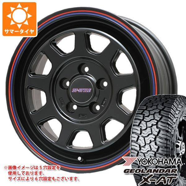 サマータイヤ 235/70R16 104/101Q ヨコハマ ジオランダー X-AT G016 DTスタイル 6.5-16 タイヤホイール4本セット