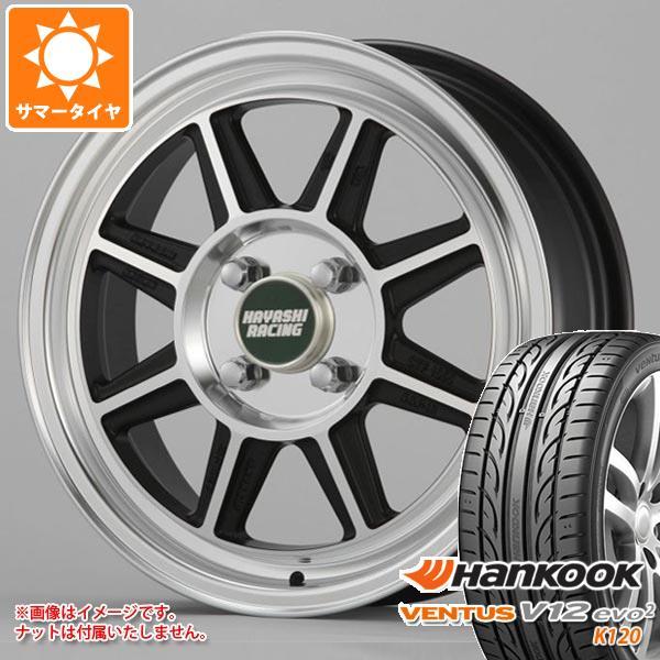サマータイヤ 185/55R15 82V ハンコック ベンタス V12evo2 K120 ハヤシレーシング ハヤシストリート STF 5.5-15 タイヤホイール4本セット