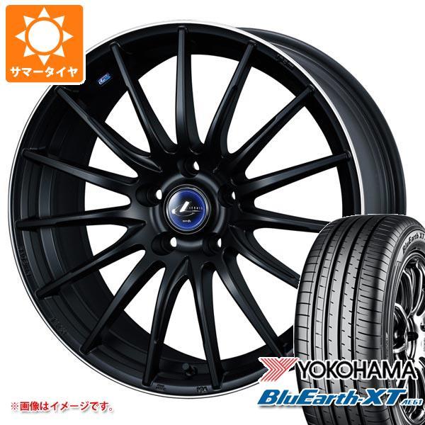 特売 サマータイヤ 215/50R18 92V ヨコハマ ブルーアースXT AE61 レオニス ナヴィア 05 7.0-18 タイヤホイール4本セット, ノモザキチョウ 8b9866ab