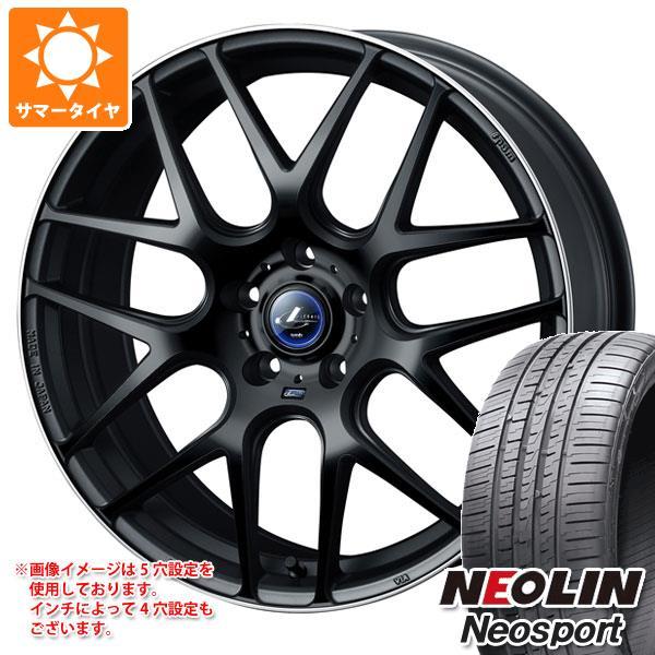 サマータイヤ 215/40R18 89W XL ネオリン ネオスポーツ レオニス ナヴィア 06 MBP 7.0-18 タイヤホイール4本セット