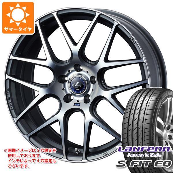 サマータイヤ 205/40R17 84W XL ラウフェン Sフィット EQ LK01 レオニス ナヴィア 06 MGMC 6.5-17 タイヤホイール4本セット