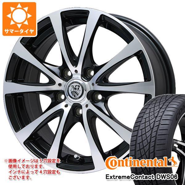 サマータイヤ 225/40R18 92Y XL コンチネンタル エクストリームコンタクト DWS06 TRG-BAHN XP 7.5-18 タイヤホイール4本セット